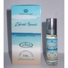 """Арабские масляные духи """"Zahrat Hawaii"""" Al-Rehab, 6мл"""